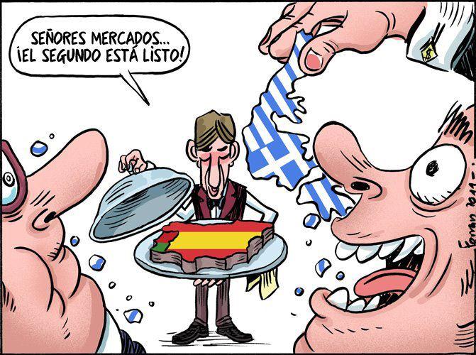 Diferencias entre Grecia y España en el Grexit y la crisis